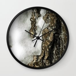 Icy Tree Wall Clock