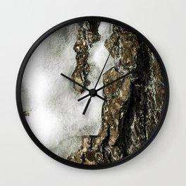 Icy Tree Wall Clock