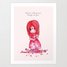 Precious Carrie Art Print