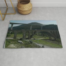 Porto  - Bridge Scene Rug