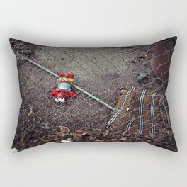 poor dead elmo behind the fence Rectangular Pillow
