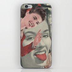 Tongue Brush iPhone & iPod Skin