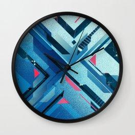 Geometric - Collage Love Wall Clock