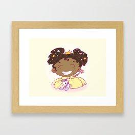 Lil´Princess Giddy-Up! Framed Art Print