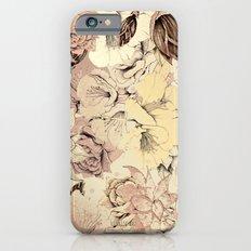 pattern Flowers Slim Case iPhone 6s