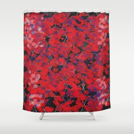 Dissemination / Pattern #4 Shower Curtain
