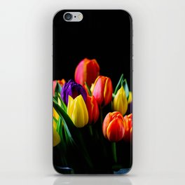 Colorful Tulips iPhone Skin