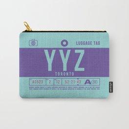 Luggage Tag B - YYZ Toronto Pearson Canada Carry-All Pouch