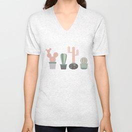 cacti colors Unisex V-Neck