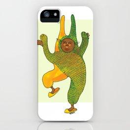 dancing rabbit iPhone Case