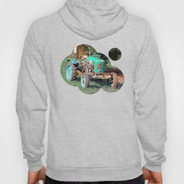 Old traditional Lindner tractor | conceptual photography Hoody