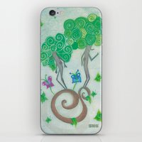 surrealism iPhone & iPod Skins featuring Tree Surrealism by Design SNS - Sinais Velasco