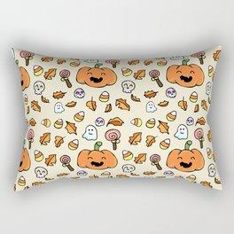 Halloween Doodles Rectangular Pillow