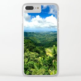 View From El Yunque Clear iPhone Case