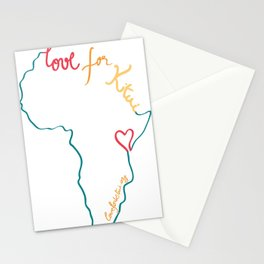 Love for Kitui Logo Stationery Cards