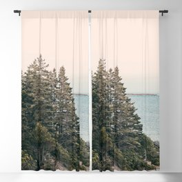 Maine Pines Blackout Curtain