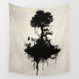 Last Tree Standing Wall Tapestry