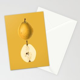 47. Watercolour Pear Painting (Pyrus Communis) Stationery Cards