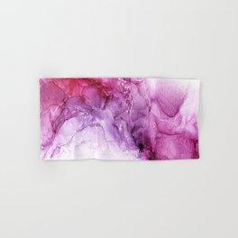 beautiful abstract art with fluid liquid paint Hand & Bath Towel