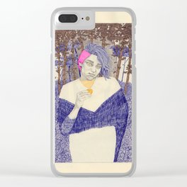 Learning to Love Another Woman, and a Mythical Creature Clear iPhone Case