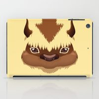 aang iPad Cases featuring Big Fluffy Thing by Cristina Jiménez Burgos