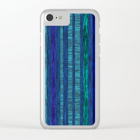 Deconstructing Autumn at night Clear iPhone Case