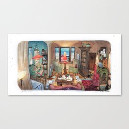 920Hoover house Canvas Print