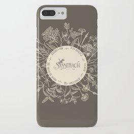 Dear Sassenach in Sepia iPhone Case