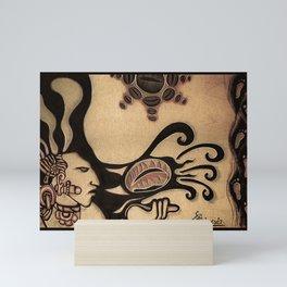 Prehispanic coffee Mini Art Print