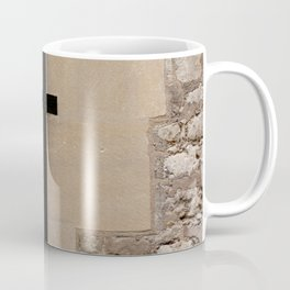 Arrowslit Loophole for Archer in Tower of London Medieval Castle England Coffee Mug