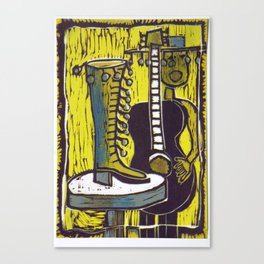 """""""She Danced right out of Her Shoe"""" Canvas Print"""