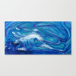 Poseidon Uprising Canvas Print