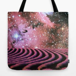 Cool Purple Mist Tote Bag