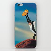the lion king iPhone & iPod Skins featuring LION KING by Julie Qiu