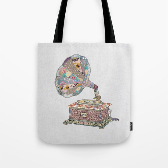 SEEING SOUND Tote Bag