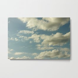 THINGS CAN BE PATCHY Metal Print