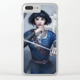 Sabriel Clear iPhone Case