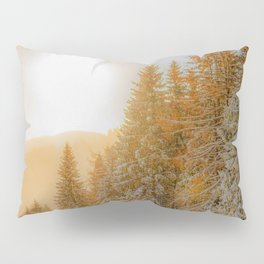 Winter forest trees #15 Pillow Sham