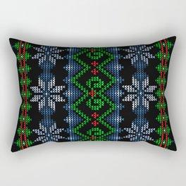 Uglier Ugly Christmas Sweater Rectangular Pillow