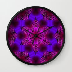 Abstract X Two Wall Clock