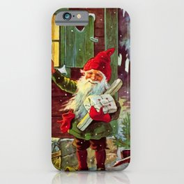 """""""The Presents Have Arrived"""" by Jenny Nystrom iPhone Case"""