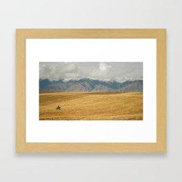 Kyrgyzstan Framed Art Print