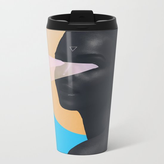 light vision Metal Travel Mug