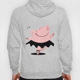 Ballerina pig Hoody
