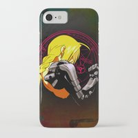 fullmetal alchemist iPhone & iPod Cases featuring YELLOW HAIR ALCHEMIST by BradixArt