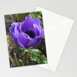 Purpler Flower Stationery Cards