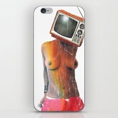 SEX ON TV by ZZGLAM iPhone & iPod Skin