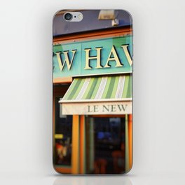 Le New Haven Restaurant iPhone Skin
