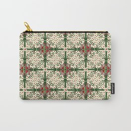 Vintage Christmas Carry-All Pouch