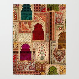 Medley of Rugs Poster